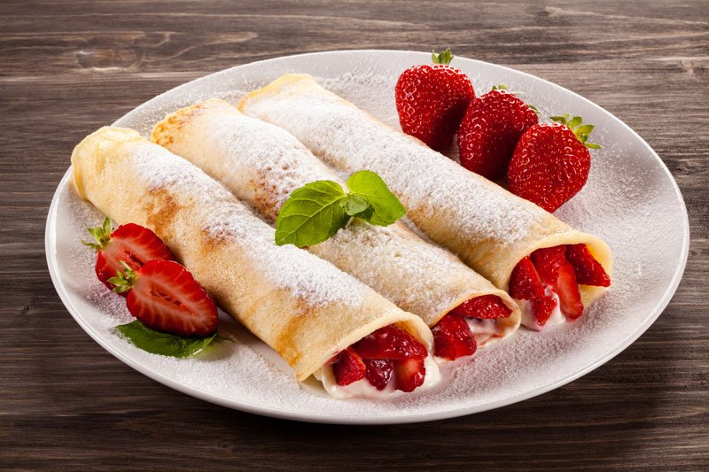 Mother's Day Recipe: Creamy Strawberry Crepes