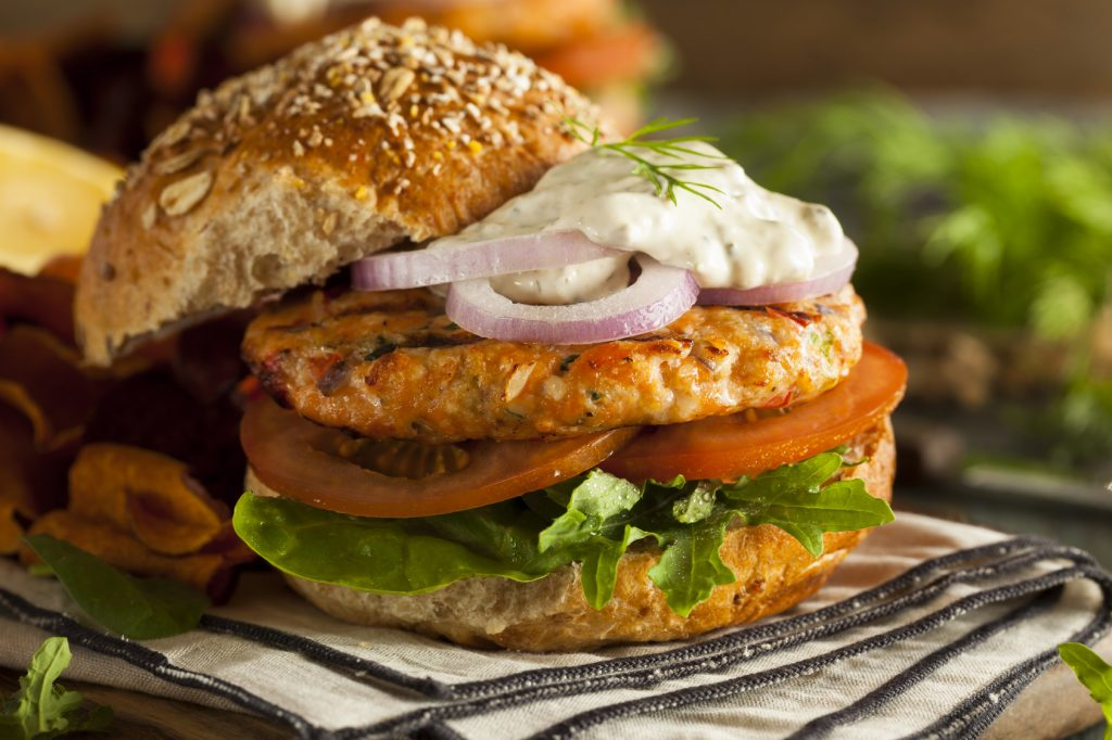 Summer Recipe: Salmon Burger